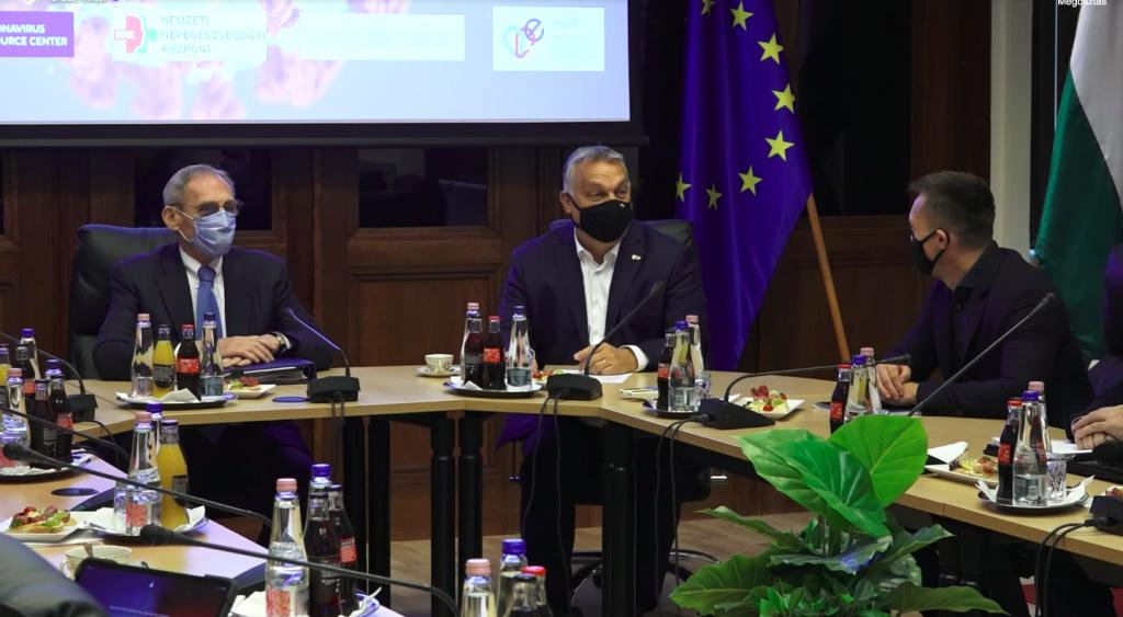 Orbán: Ungarn strebt einen schnellen Zugang zu Impfstoffen an