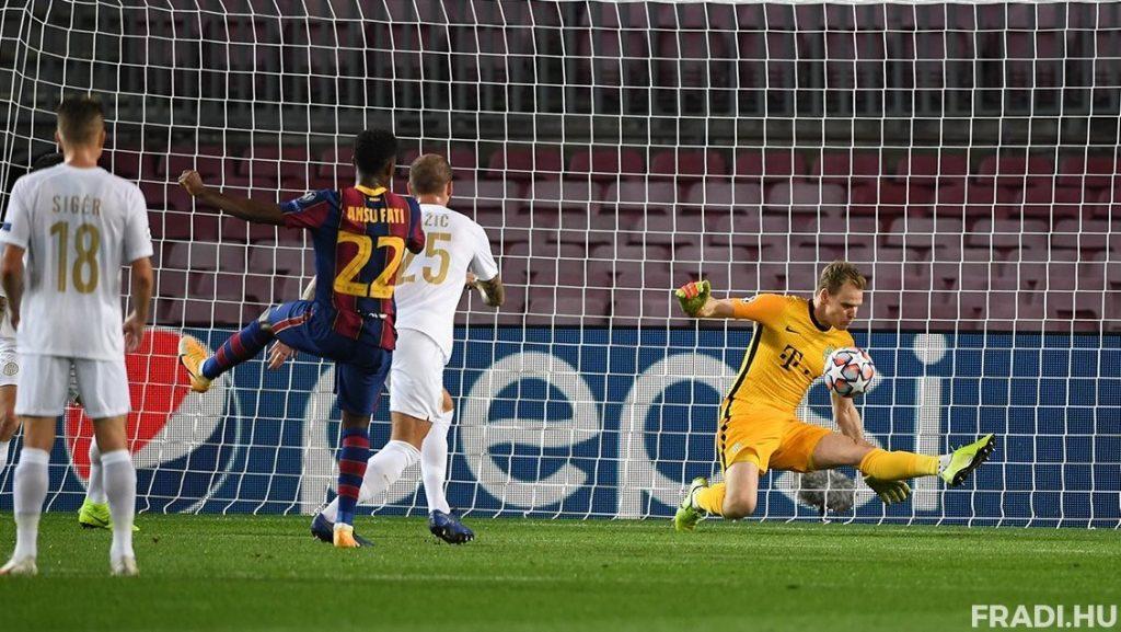 Ferencváros in Barcelona besiegt, soll aber sich nicht schämen