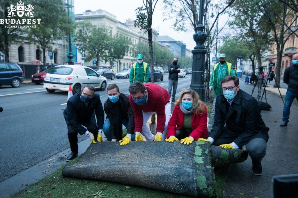 Karácsony: Budapest verpflichtet sich zur Begrünung der Stadt post's picture