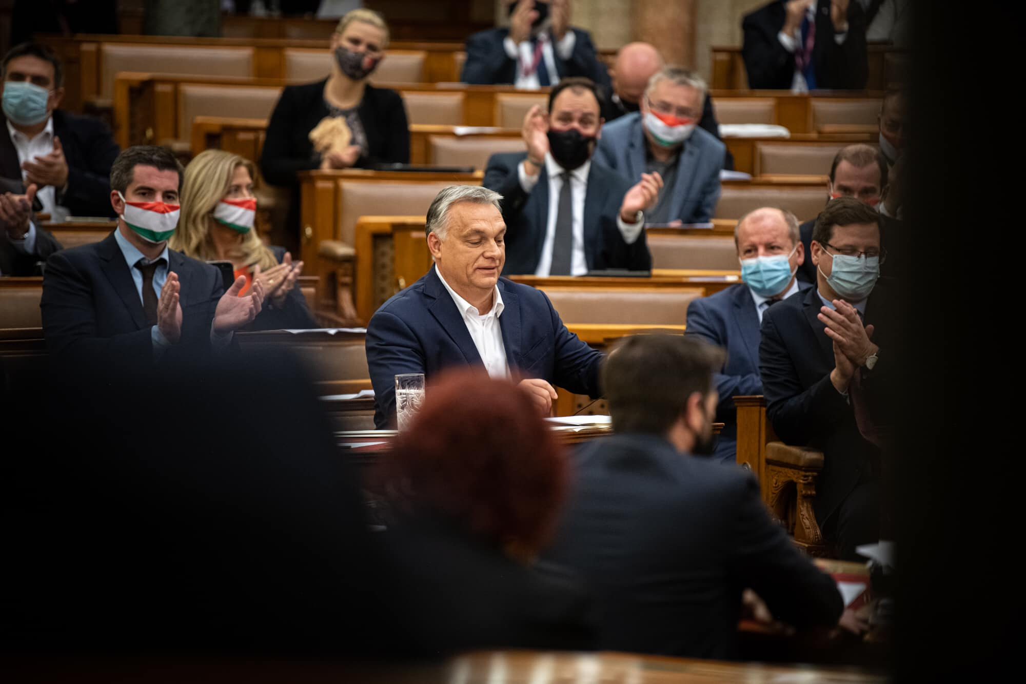 Budapost: Grundgesetznovelle passiert das Parlament