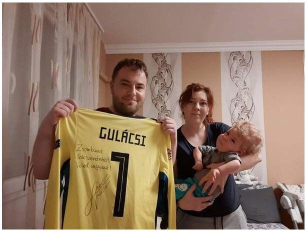 Leipzig-Torwart Gulácsi spendet 25 Millionen Forint für Kind mit spinaler Muskelatrophie