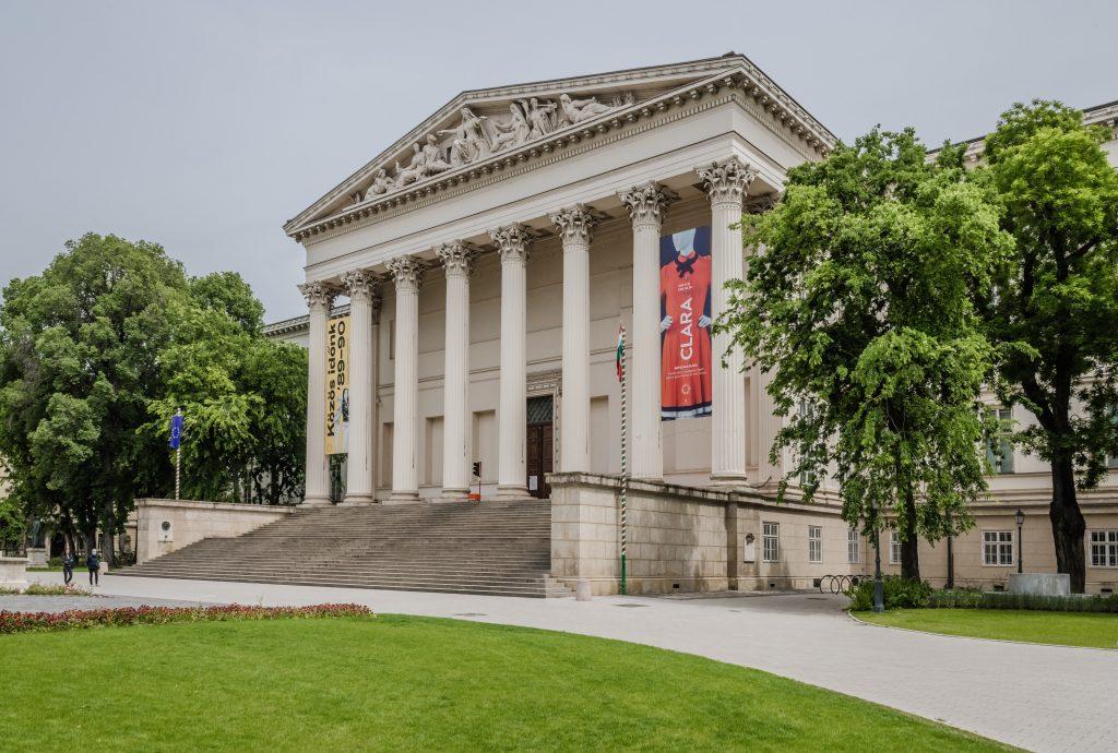 Nationalmuseum schließt infolge der Beschränkungen