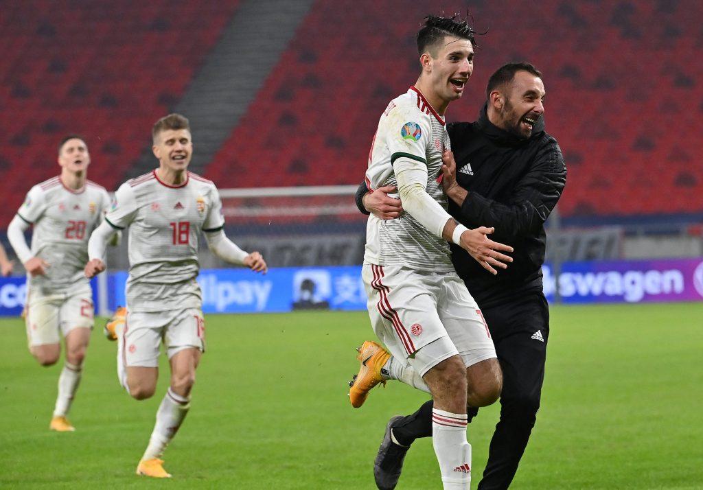 Budapost: Erfolge der Fußball-Nationalmannschaft gefeiert