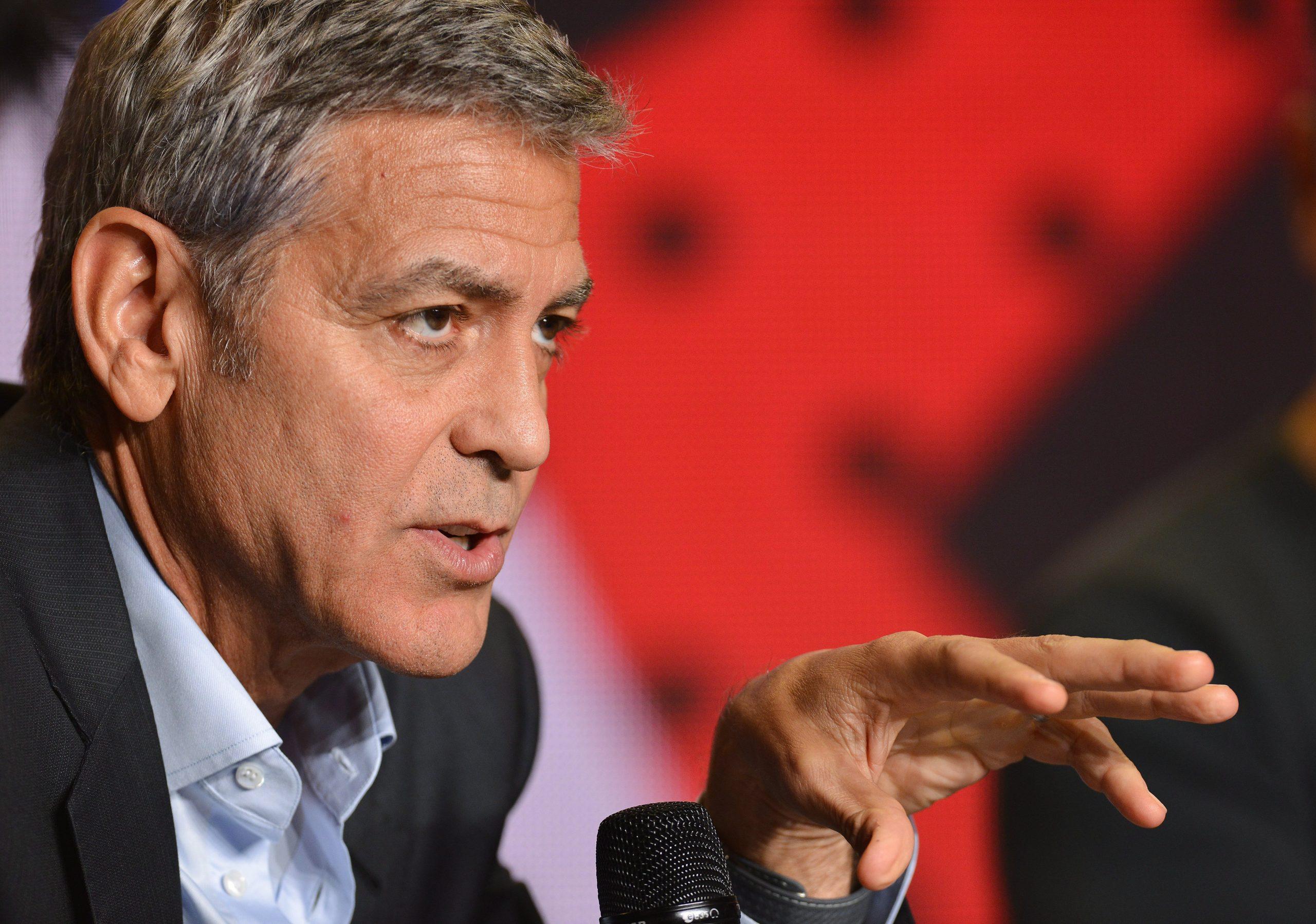 George Clooney: Wenn Hass und Wut, dann Orbán