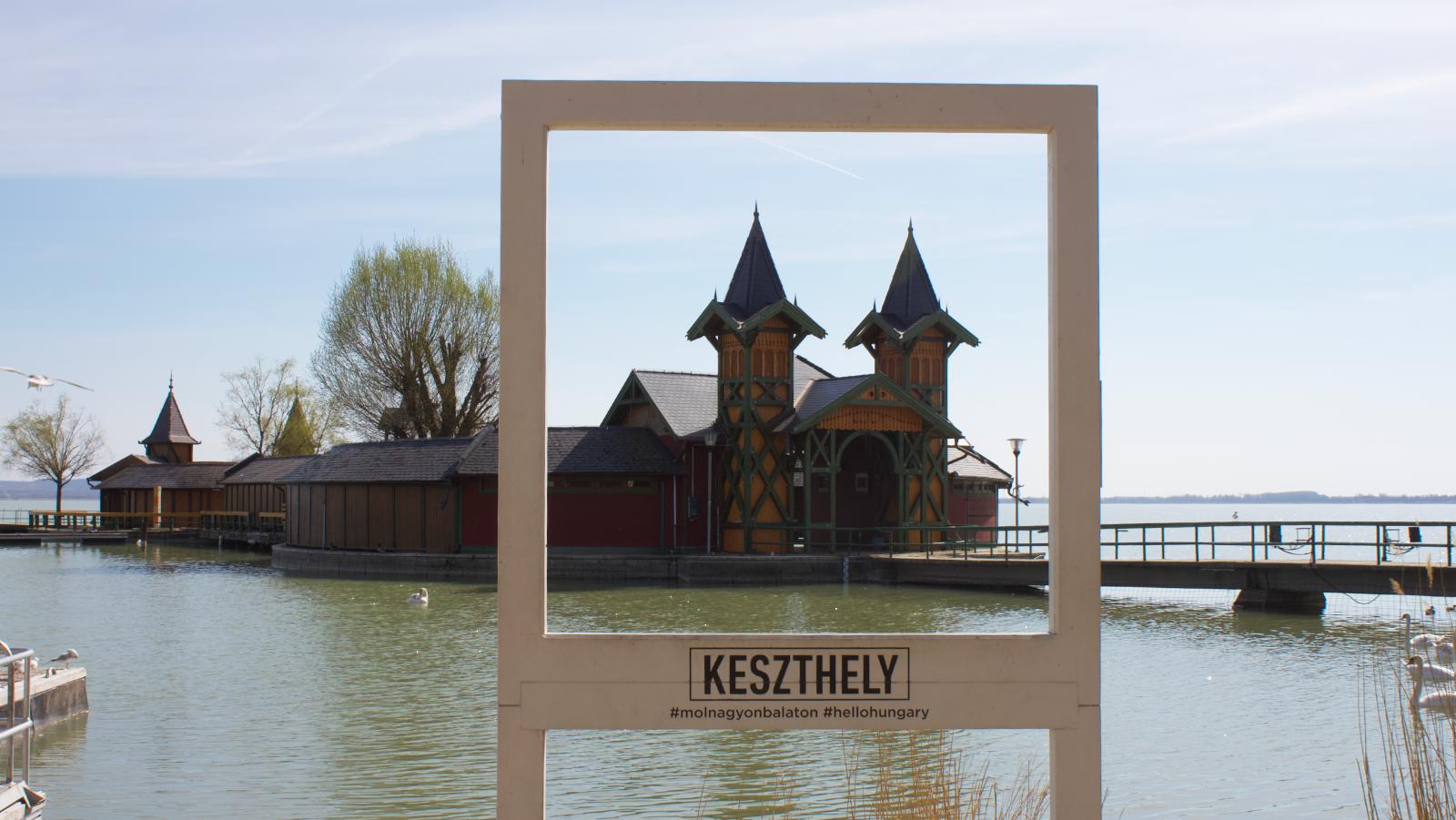 Schönster Strand am Plattensee entsteht in Keszthely
