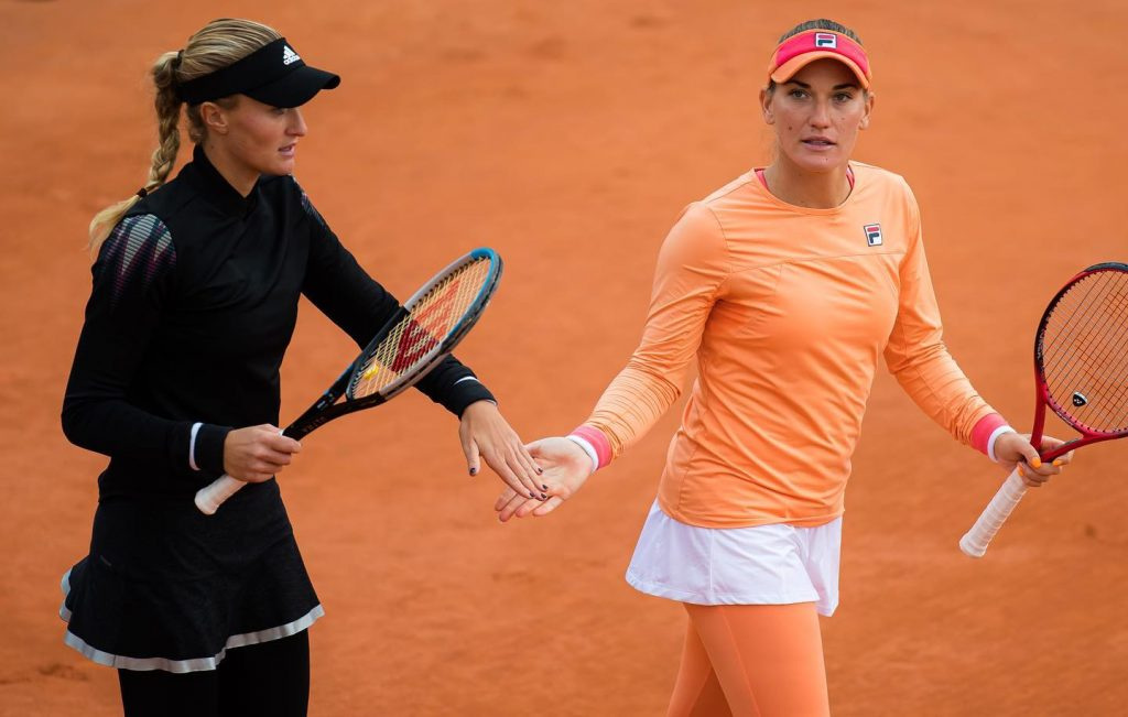 Damentennis: Tímea Babos und Kristina Mladenovic sind wieder Doppel-Team des Jahres!