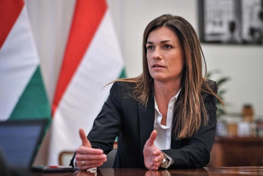 "Justizministerin Varga kritisiert ""westliche Doppelmoral"""