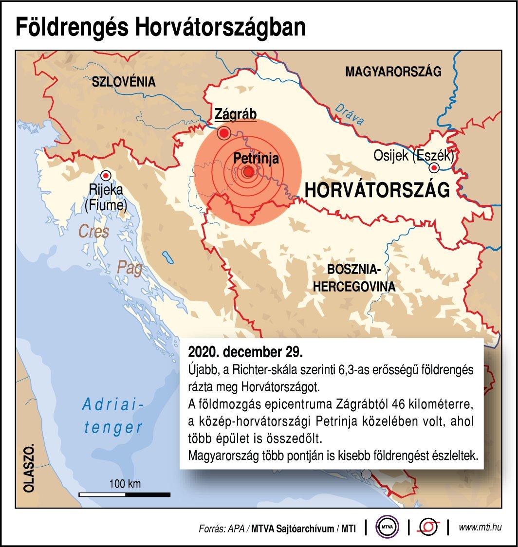 Erdbeben auch in Ungarn spürbar