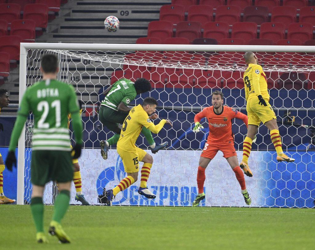 Champions League: Barcelona gewinnt gegen Ferencváros in Budapest