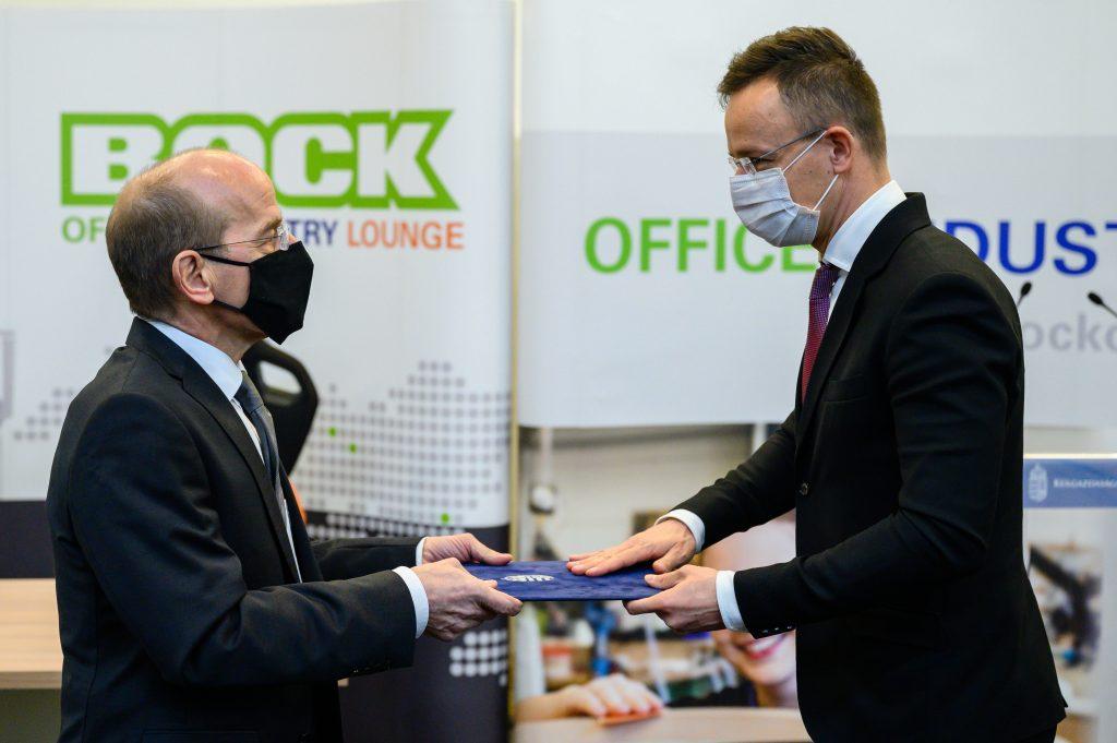 """Deutsches Unternehmen """"Bock"""" investiert 606 Mio. Forint"""