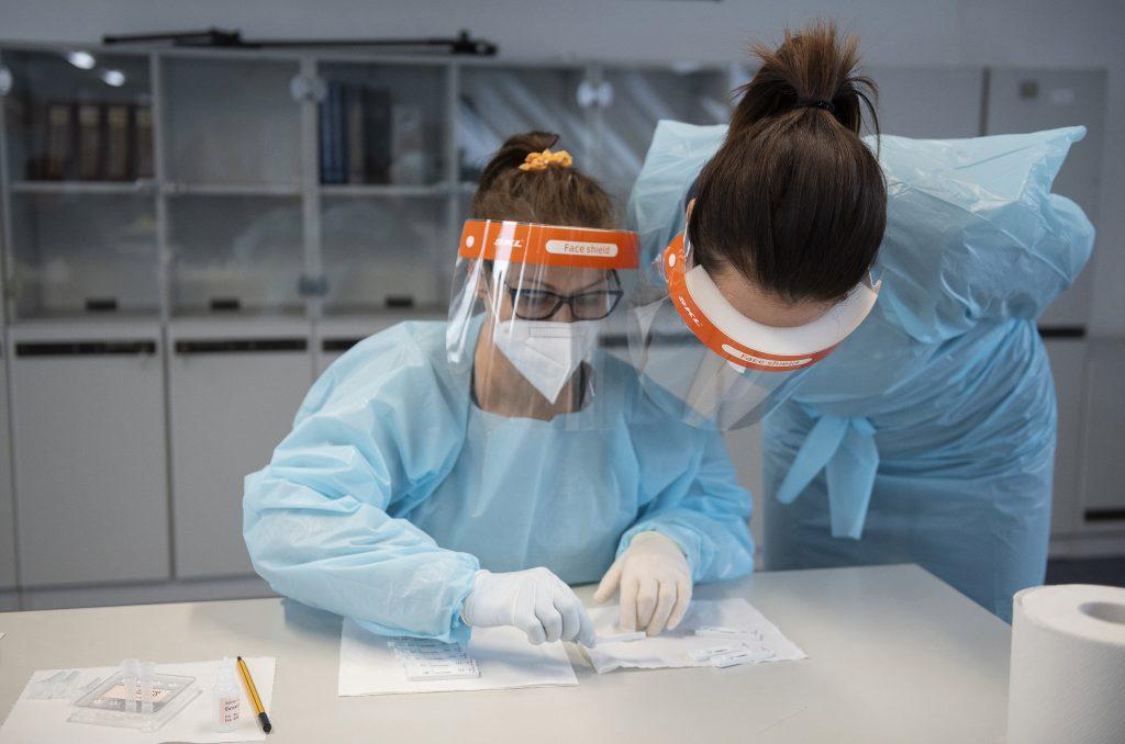 Niedrige Neuinfektionen gemeldet