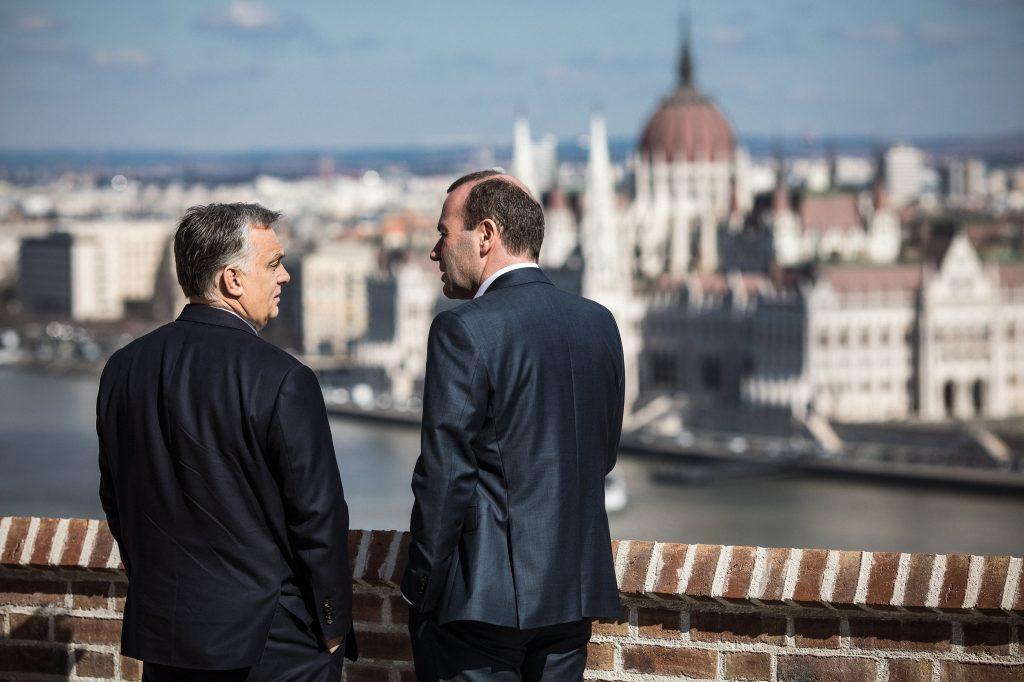"""Orbán: """"Manfred Weber hat das ungarische Volk beleidigt"""""""