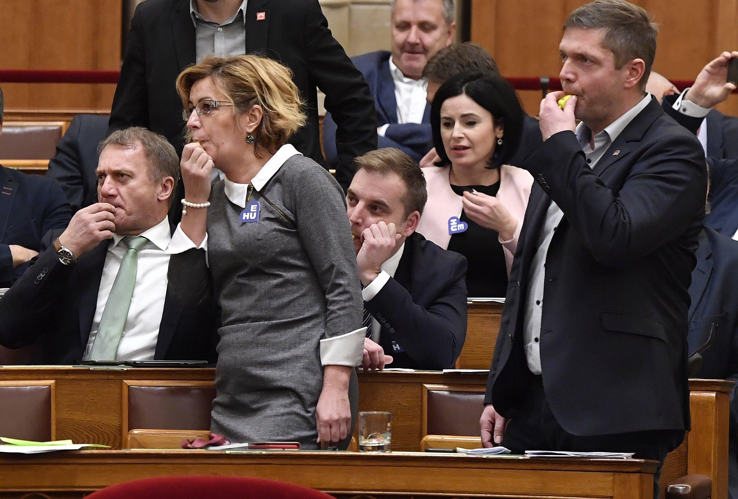 Oppositionsparteien gegen Wirtschaftsschutzplan