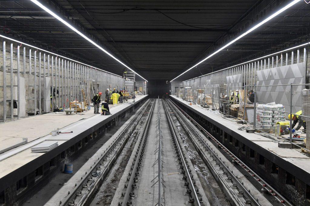 Umbau des Hauptabschnitts der Budapester U-Bahnlinie 3 wird fortgesetzt