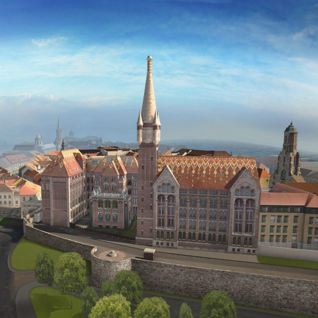 Ungarisches Nationalarchiv bekommt seinen Turm zurück