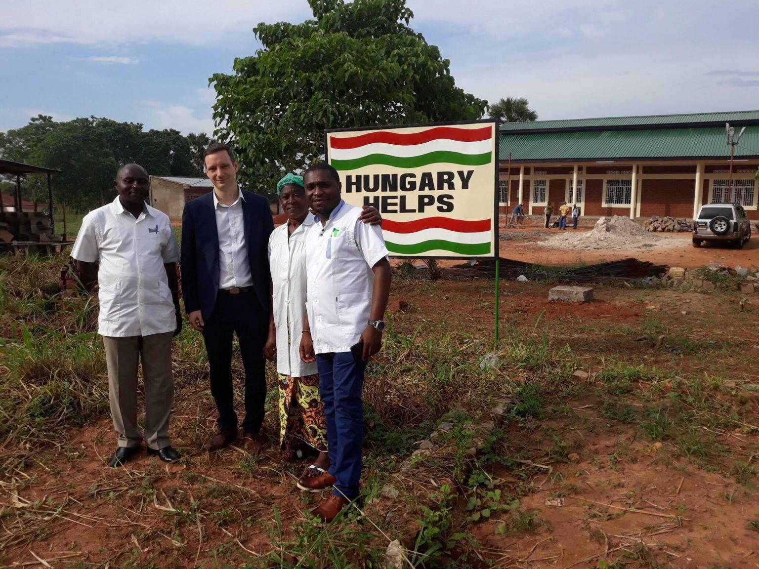 Ungarn errichtet Augenklinik im Kongo
