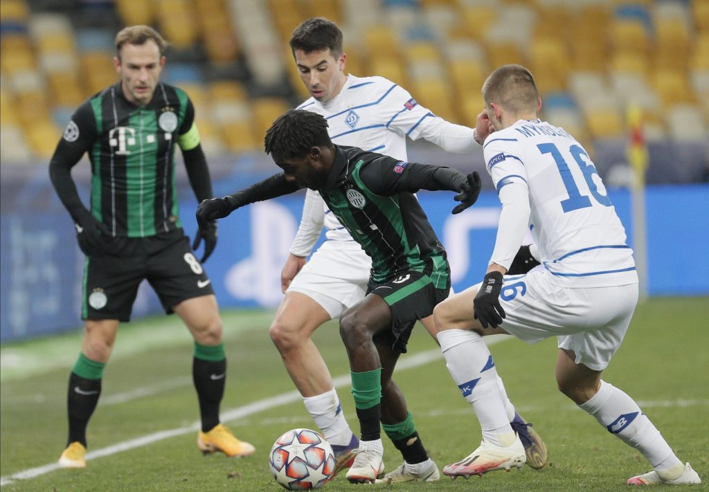 Champions League: Ferencváros Budapest trotz Niederlage mit erhobenem Haupt