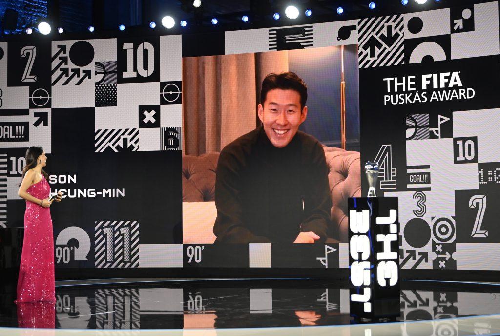 FIFA-Puskás-Preis geht an Tottanham-Spieler Son Heung-min