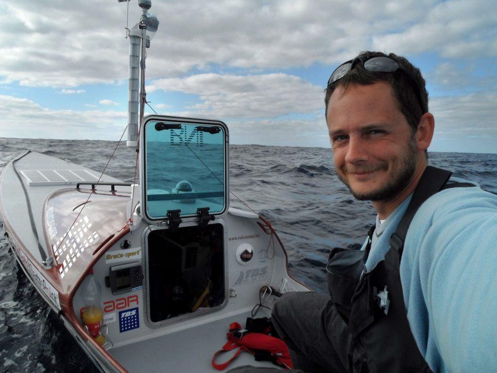 Ungarischer Extremsportler versucht erneut über den Atlantik zu rudern