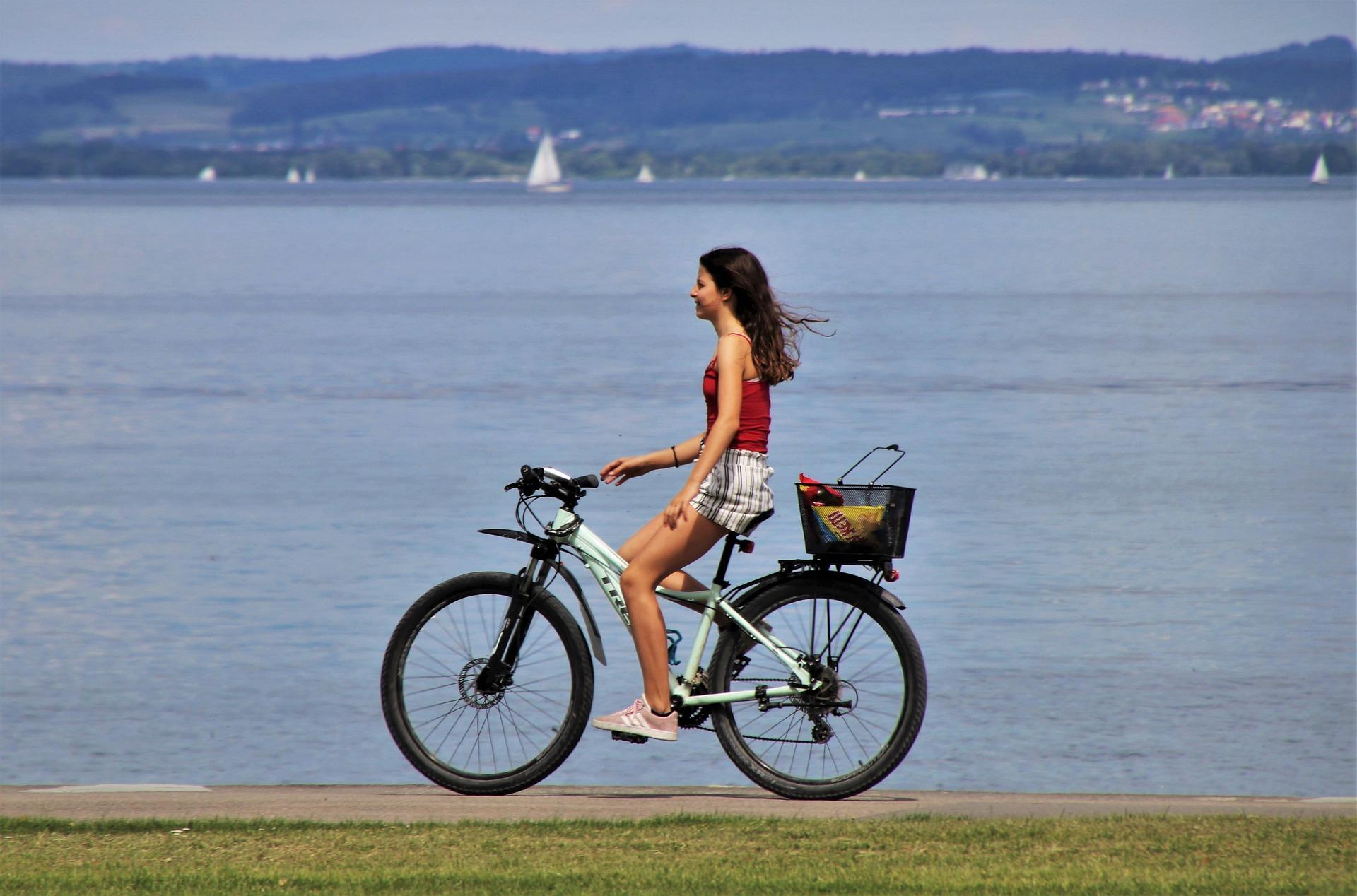 2020 wurden zahlreiche Seen-Radwege in Ungarn ausgebaut und erneuert