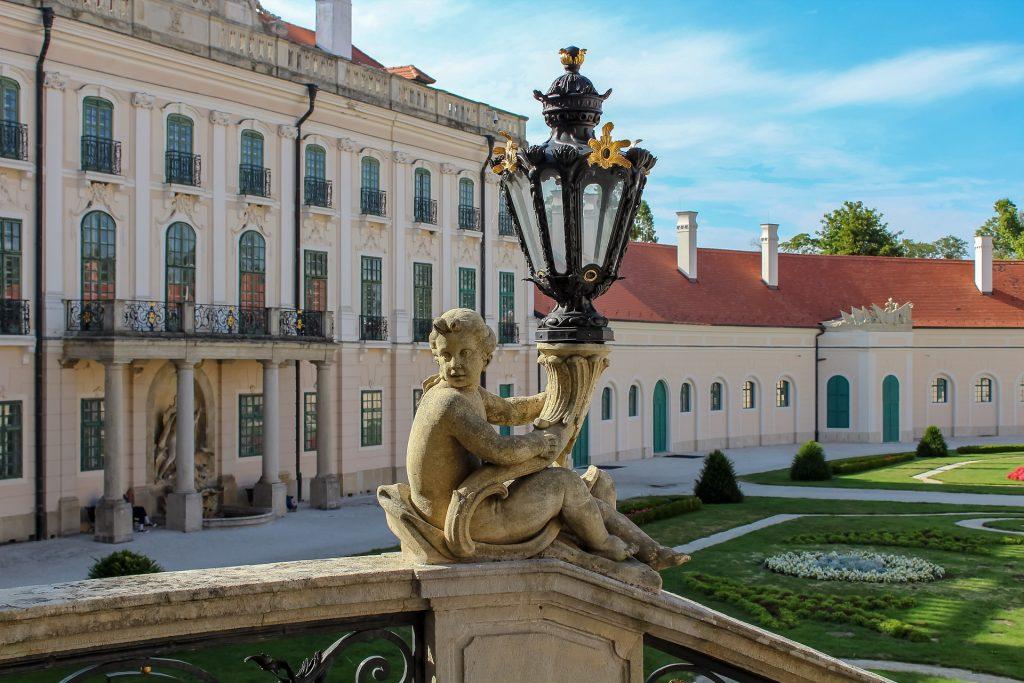 Renovierung des Schlosses Esterházy in Fertőd wird fortgesetzt