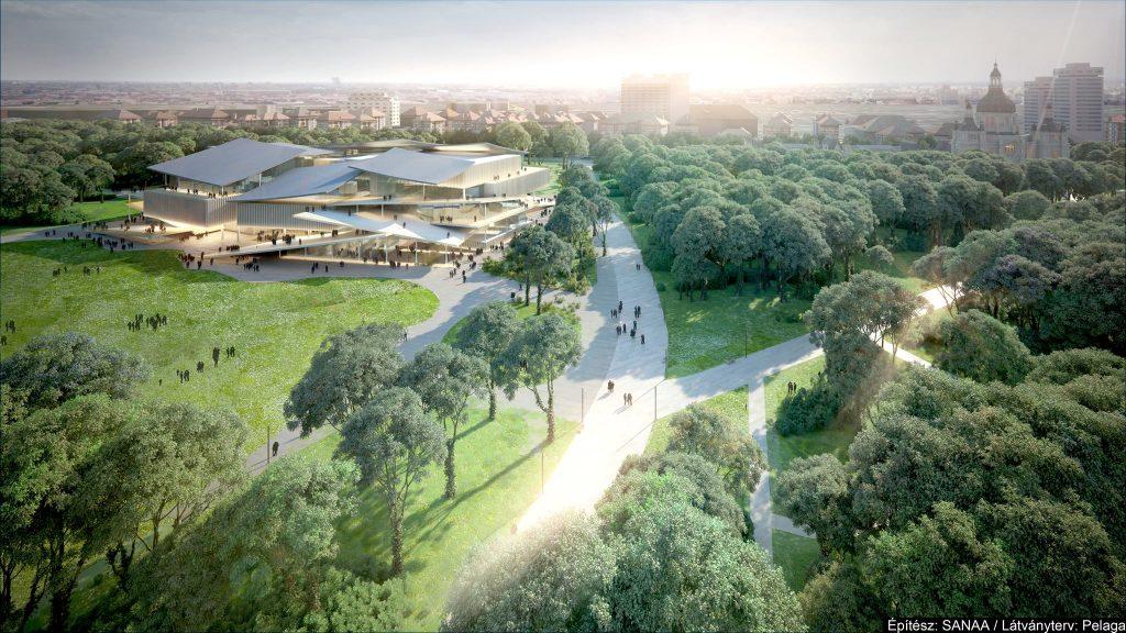 Budapester Stadtwäldchen: Zehntausend Quadratmeter neue Grünfläche entsteht