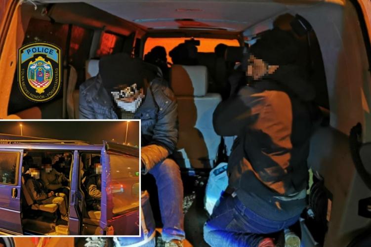 Lastwagen mit 68 Migranten an der ungarisch-rumänischen Grenze gestoppt