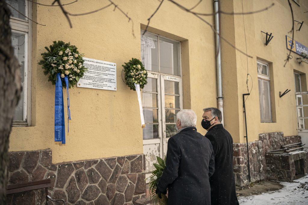 Gedenktag für die Vertreibung der Ungarndeutschen: Viktor Orbán legt Kranz nieder