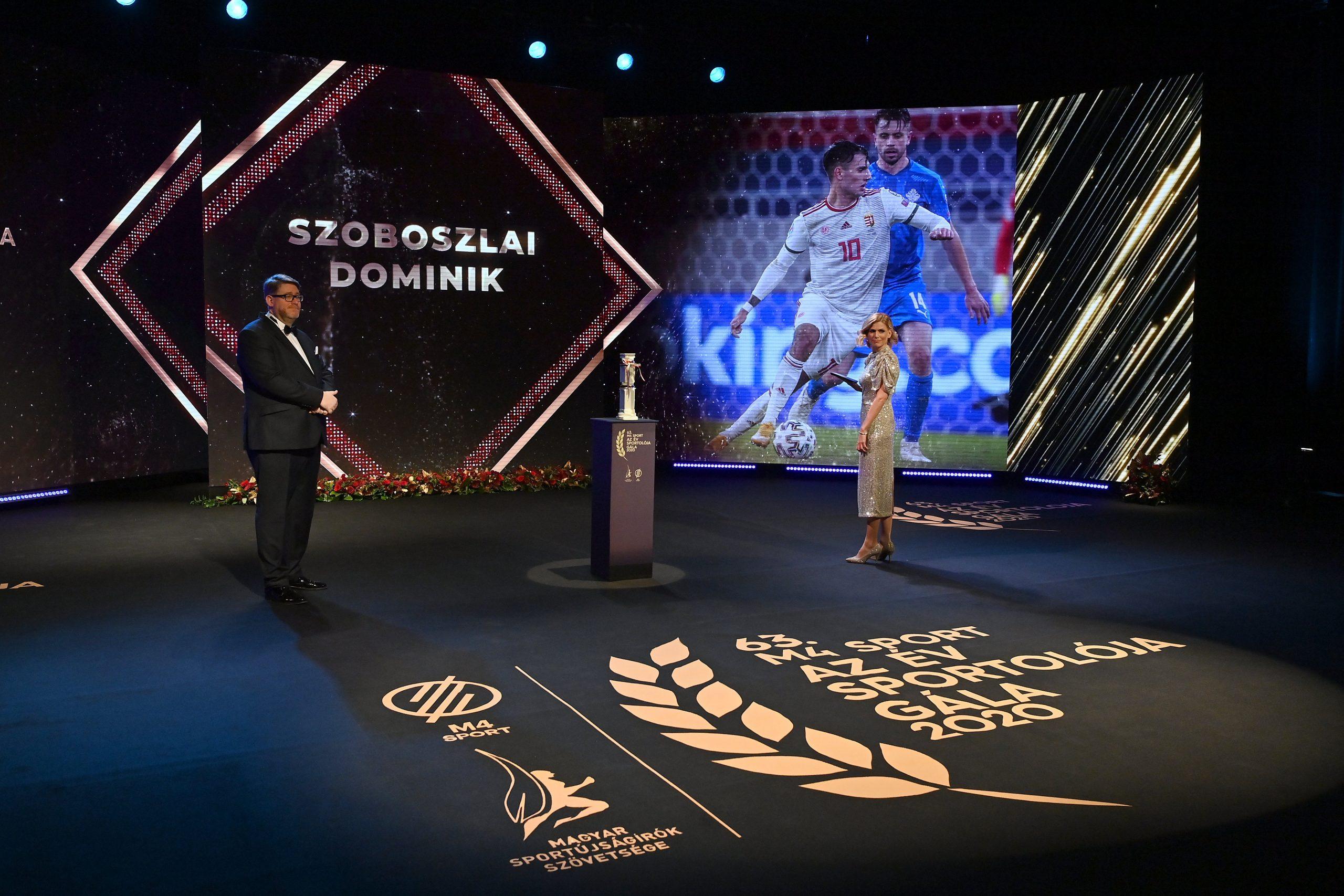 """Leipzig-Spieler Szoboszlai ist Ungarns """"Sportler des Jahres"""""""