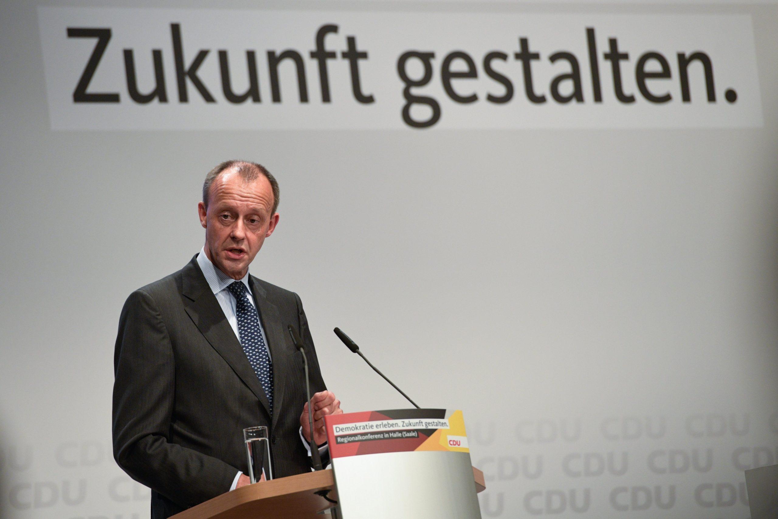 CDU-Chef-Kandidat Merz: