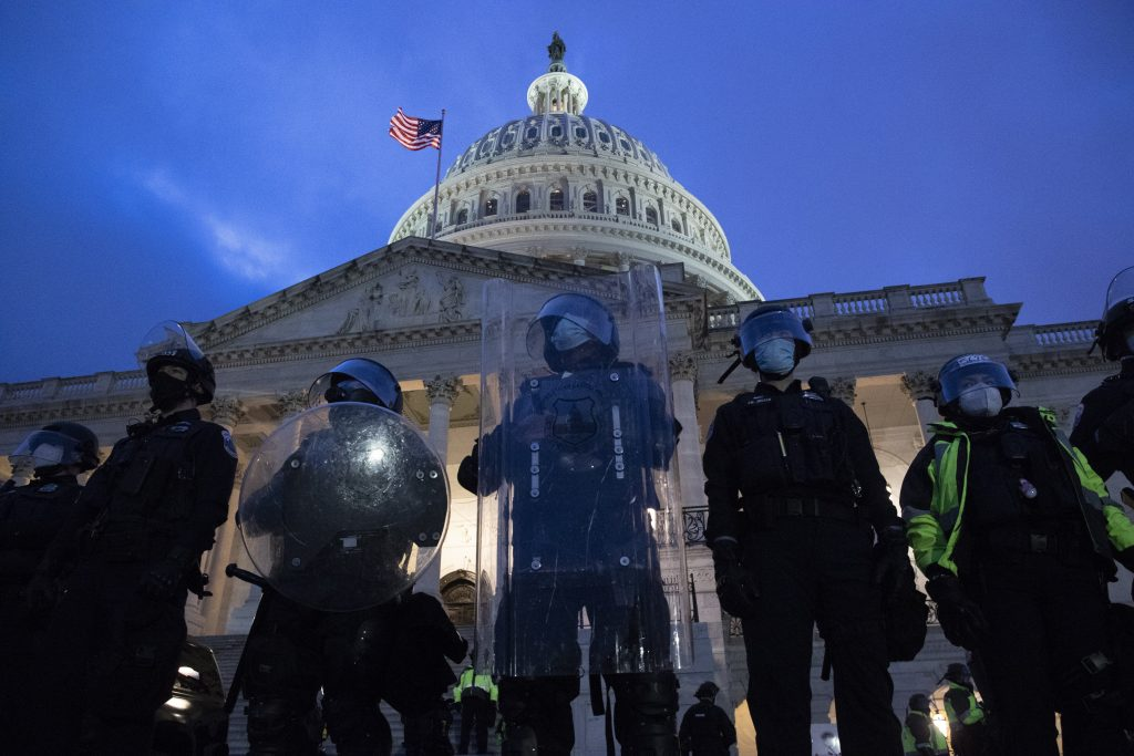 Budapost: Wie die Leitmedien die Unruhen auf dem Capitol Hill sehen