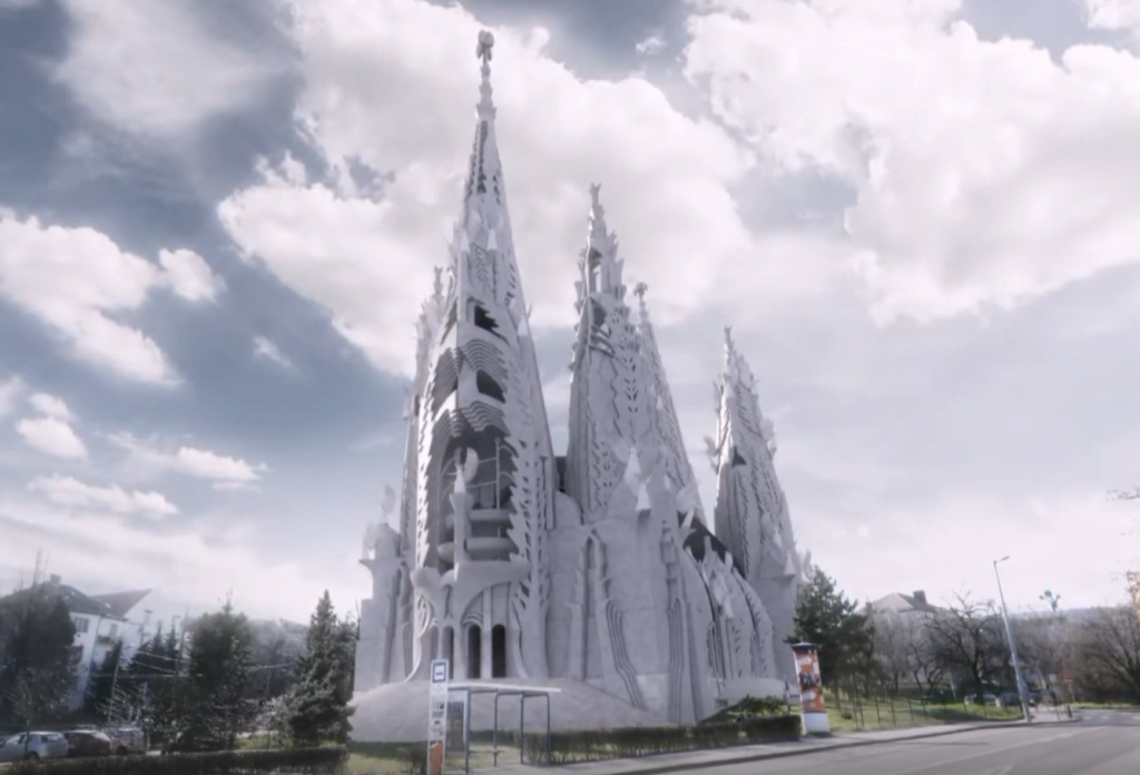 """""""Kathedrale von Makovecz wäre eindrucksvoller als Gaudís Sagrada Família in Barcelona"""""""