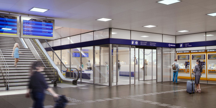 Grünes Licht für neues Passagierzentrum am Ostbahnhof