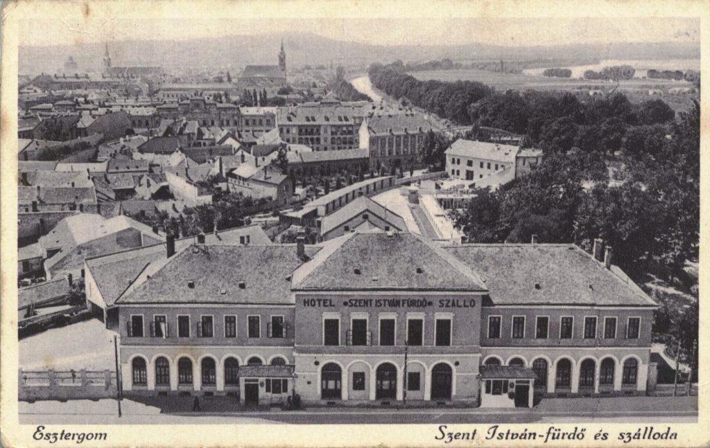 180 Jahre altes Hotel in Esztergom wird erneuert