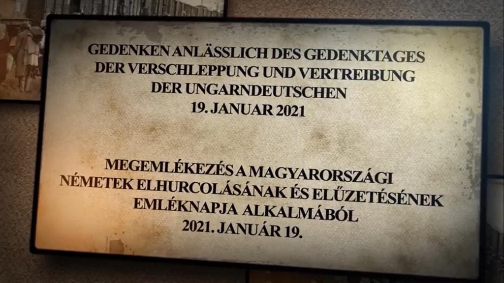 Online-Gedenktag für die vertriebenen Ungarndeutschen