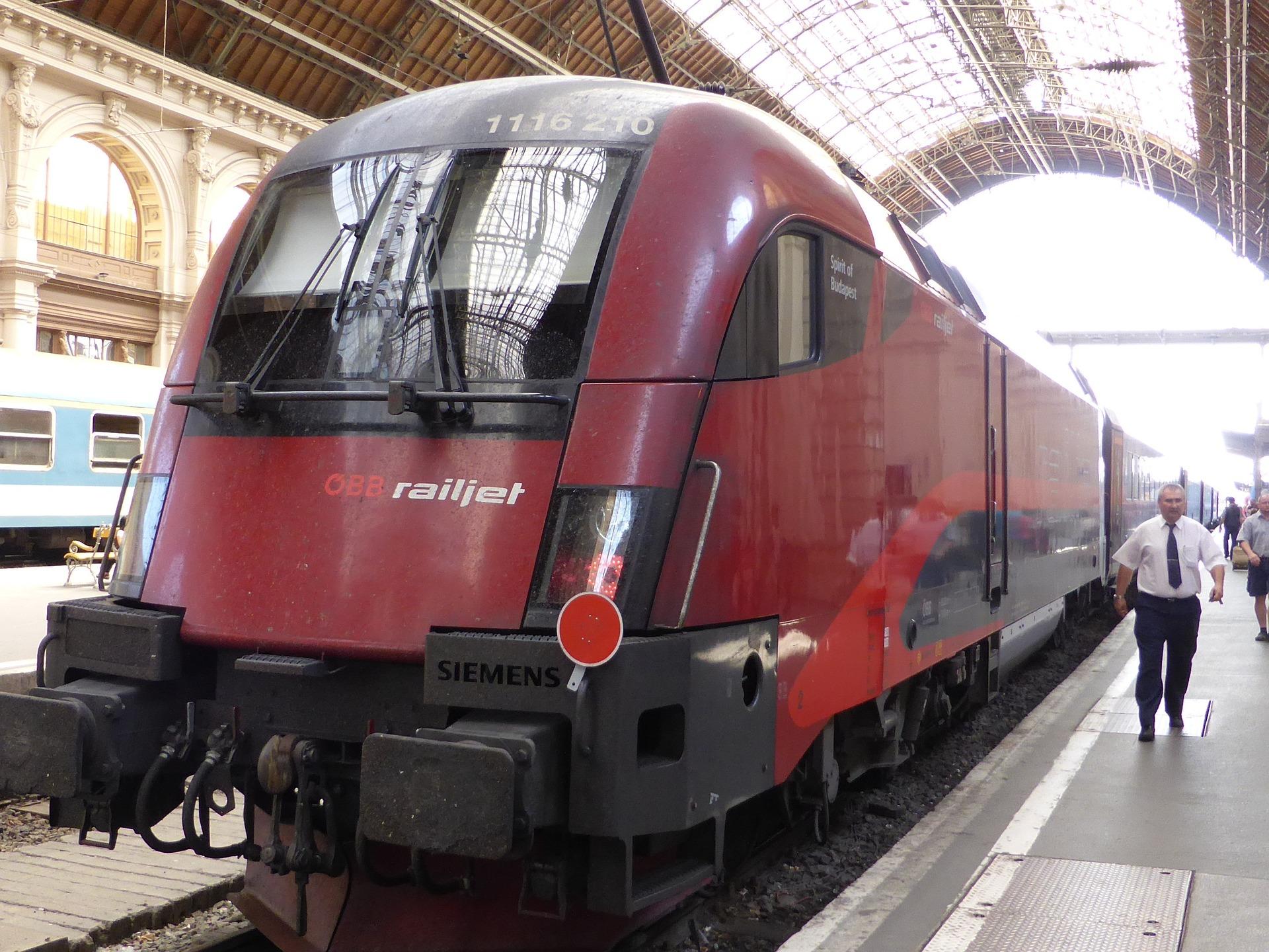 Bahn-Fahrzeit zwischen Wien und Budapest verringert sich