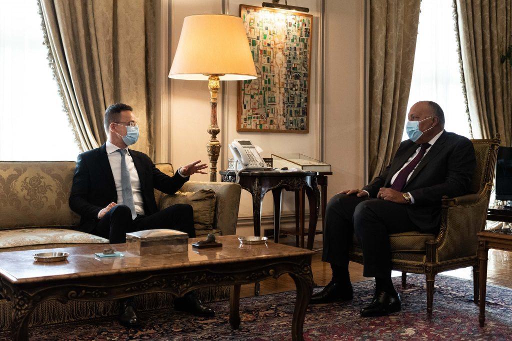 """Außenminister: """"Ägypten hat bewiesen, dass die illegale Migration sowohl auf See als auch an Land gestoppt werden kann"""""""