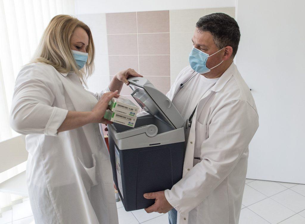 Coronavirus: Impfung mit der chinesischen Sinopharm-Vakzine beginnt