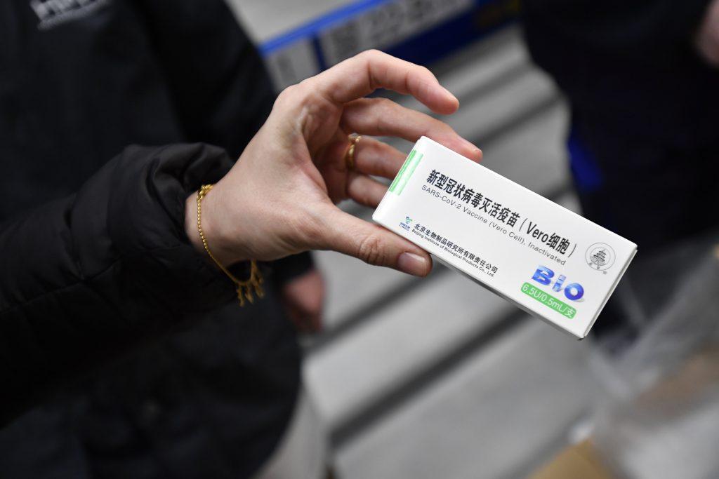 """""""So viele Menschen lehnten den chinesischen Impfstoff ab, sodass der Arzt mich anrief und sagte, es gäbe praktisch einen Rest davon"""""""