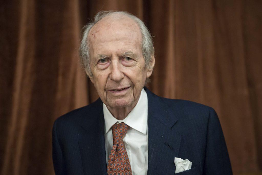 """Gründer der """"Freunde von Ungarn Stiftung"""" Baron William de Gelsey im Alter von 100 Jahren verstorben"""