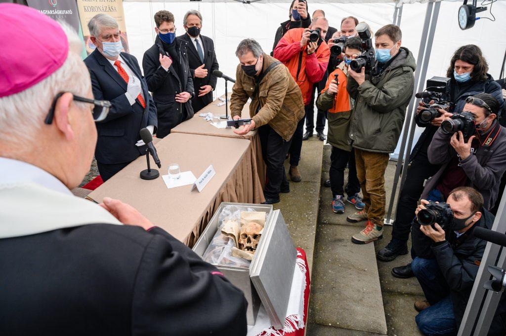 Untersuchung der königlichen Überreste beginnt