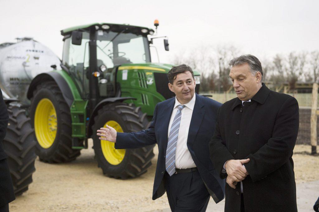 Freund von Premierminister, Lőrinc Mészáros wurde im Jahr 2020 um 70 Milliarden reicher