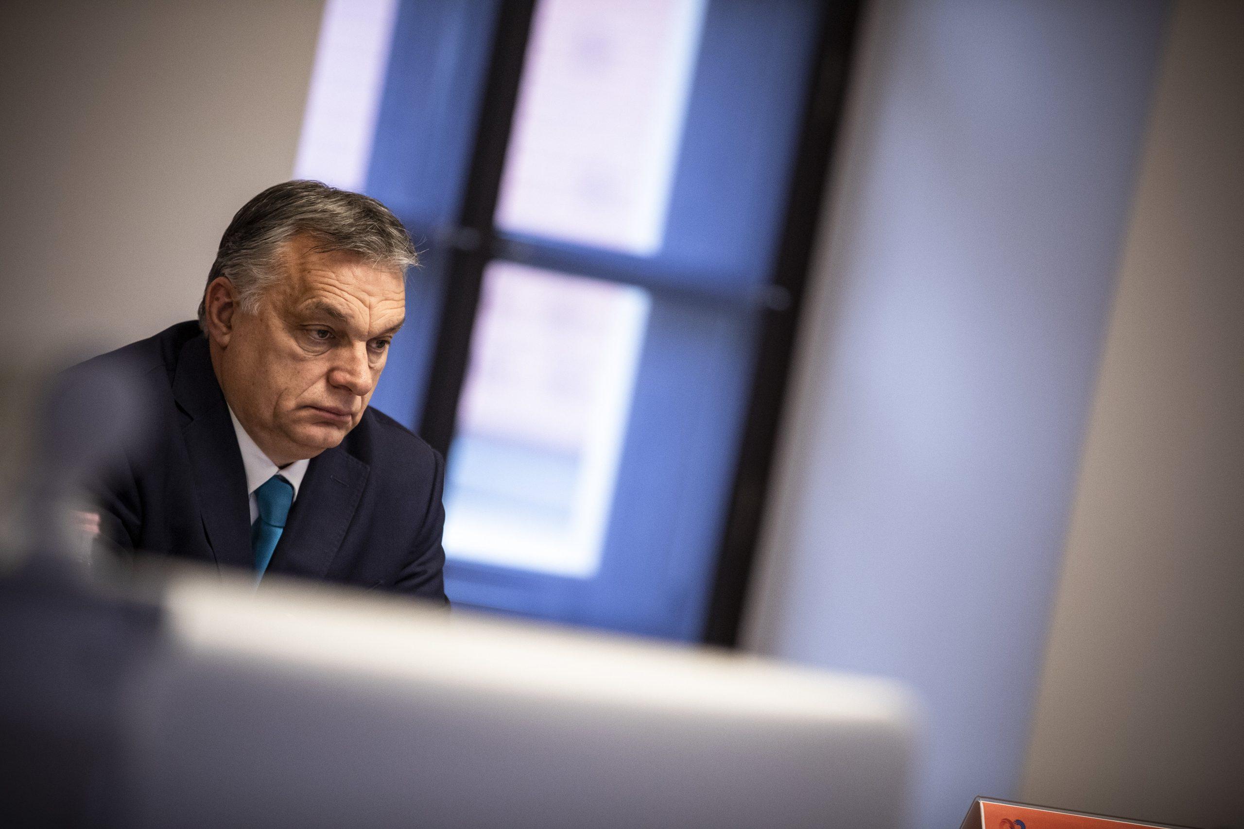 Orbán gratuliert dem ungarischen Mathematiker Lovász zum Abel-Preis