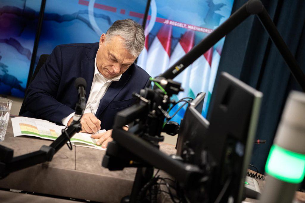 Viktor Orbán: Wir befinden uns in einer sehr gefährlichen Situation