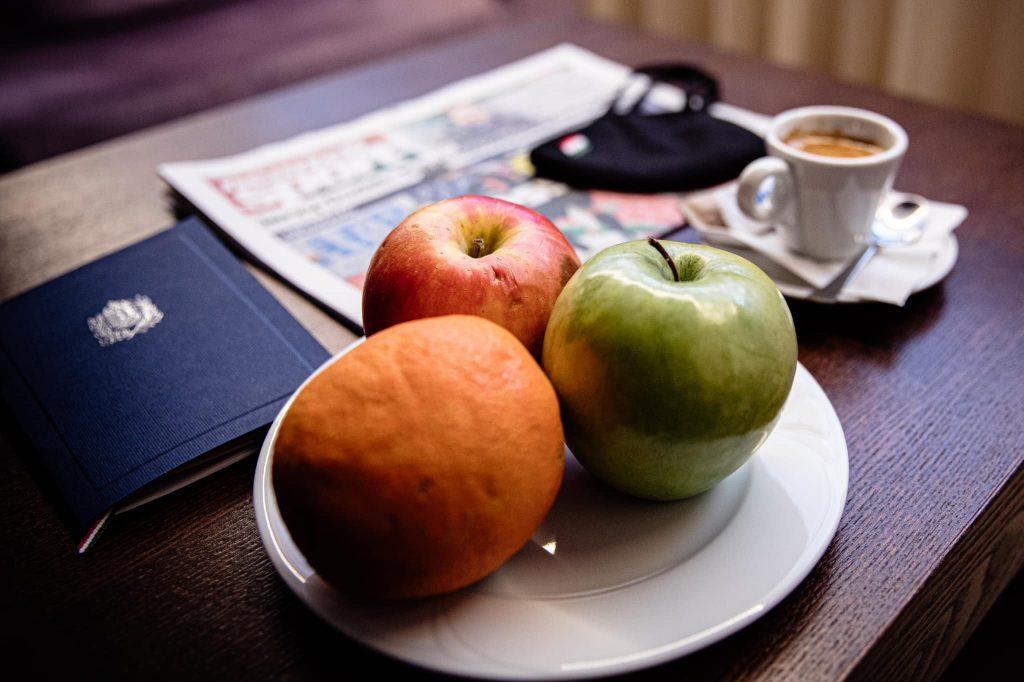 Fastenzeit: So sieht das Frühstück von Viktor Orbán aus