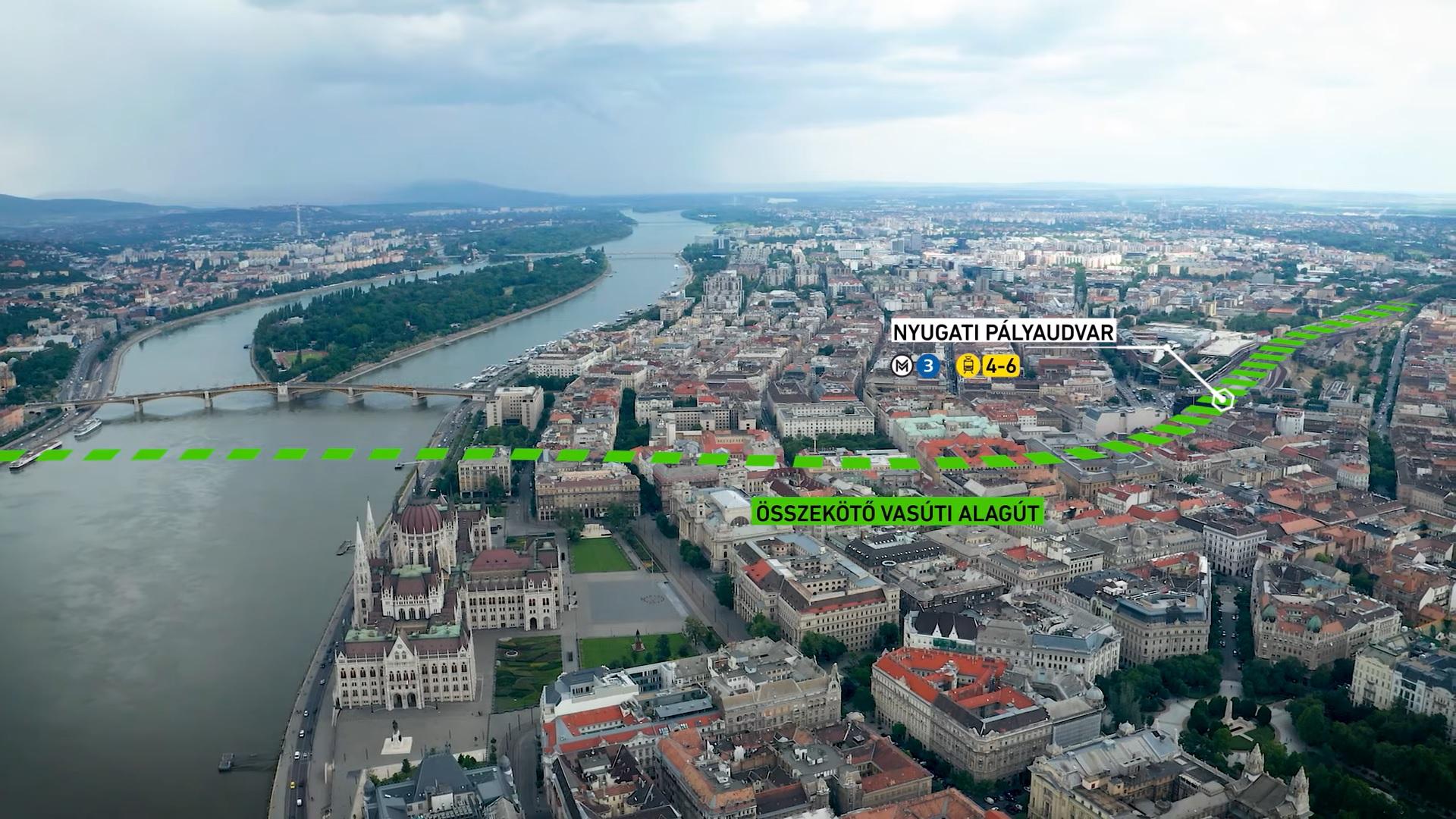 """""""Budapest Eisenbahn 2040"""": 2 Billionen Forint für den Bahnausbau in Budapest und Umgebung"""