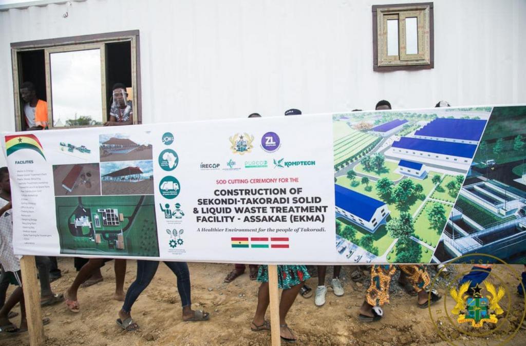 Ungarische Technologie zur Abwasserbehandlung in Ghana
