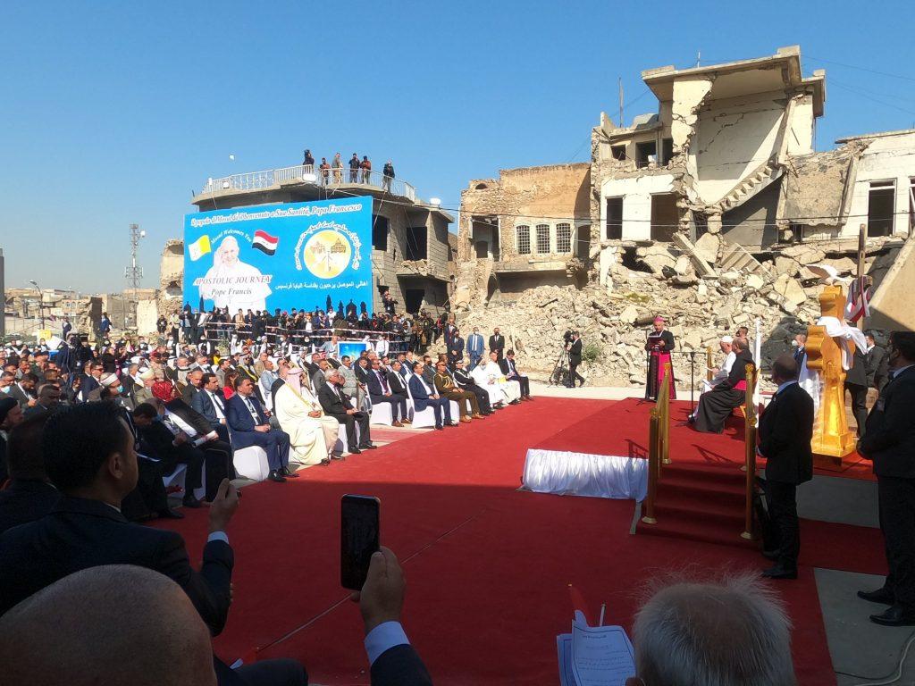 Papst Franziskus segnete Ungarns Mission im Irak
