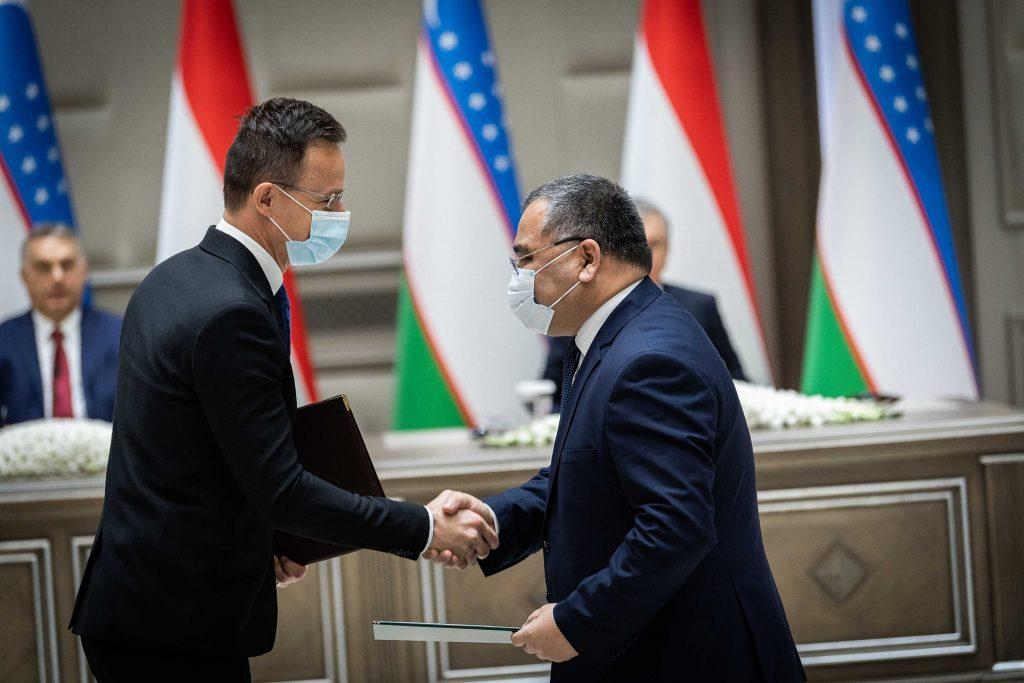 Vorbereitungen für ein großes gemeinsames Projekt mit Usbekistan