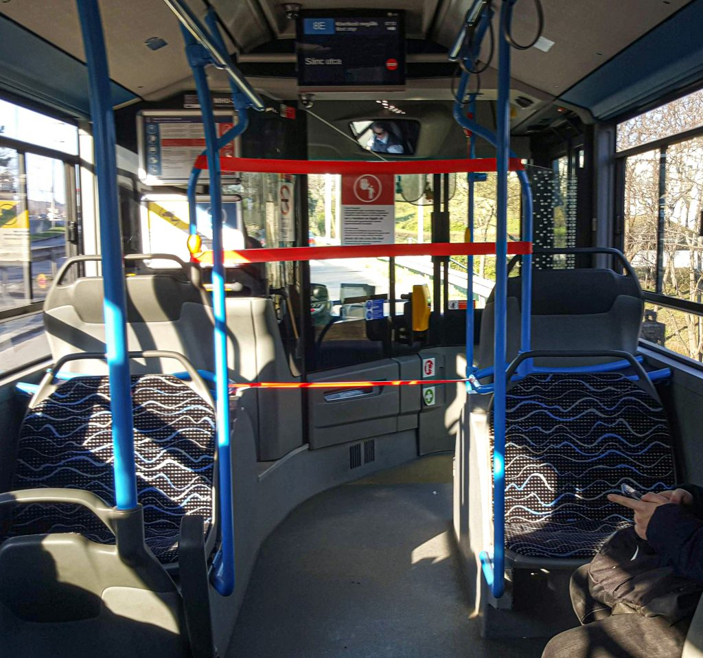 Budapester Verkehrsunternehmen: Mehr als 400 Mitarbeiter in Quarantäne